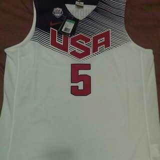 NBA球衣-KD世界盃球衣