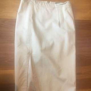 Bardot Leather Look Pencil Skirt