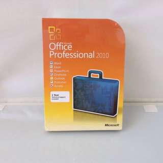Microsoft Windows Office Professional 2010