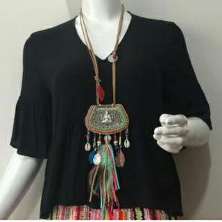 Bohemian Tassel Necklace (Free Postage Included)