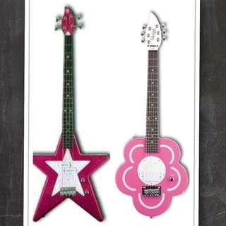 電吉他(花朵型)