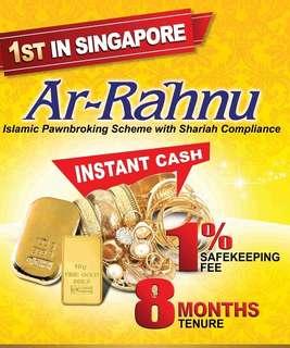 #Blessing Ar-Rahnu Islamic Pawnbroking in Singapore