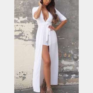 Runway The Label White Playsuit