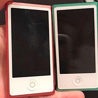 Two iPod Nano's
