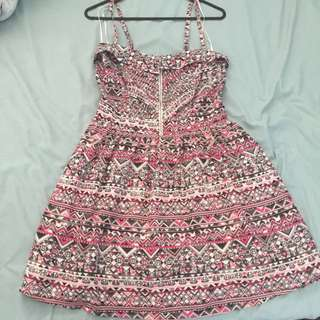 Ditto Brand Patterned Dress