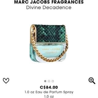 Marc Jacobs Divine Decadence Perfume BNIB