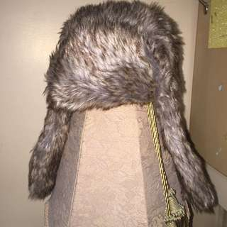 Call It Spring Faux Fur Hat