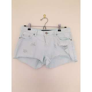 Turquoise Factorie Shorts