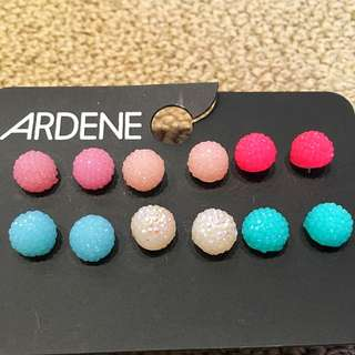 Round Bubbly Earrings From Ardene