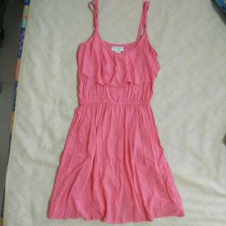 Cotton On Front Frill Dress