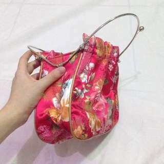Japanese Floral Bag