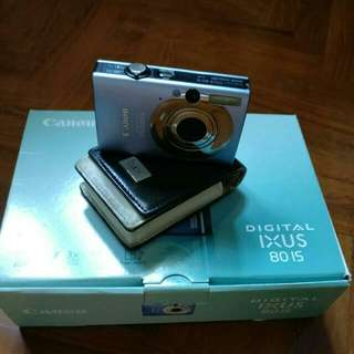 Canon Powershot IXUS 80IS In Box
