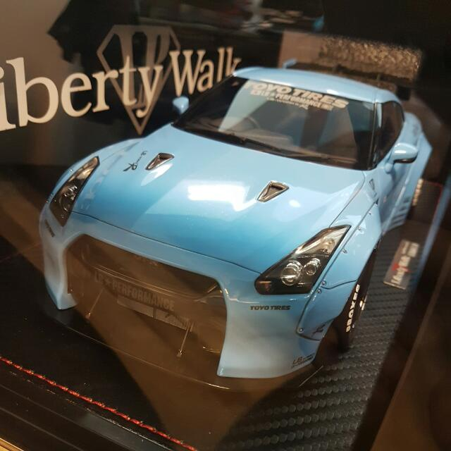1/18 Ignition Models LB Performance Nissan GTR