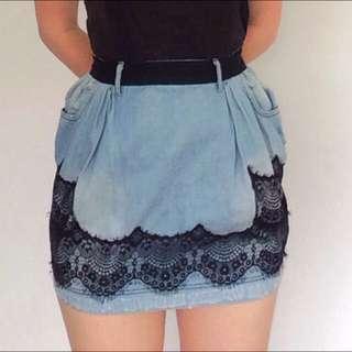 Dolce & Gabbana Denim Skirt