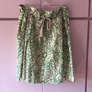 Mango Floral Skirt