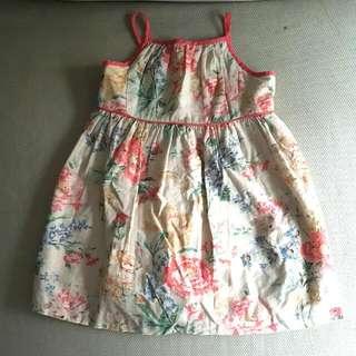 Polo Ralph Flower Dress For 18 Months