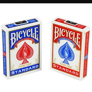 2 packs of bicycle playing cards brand new sealed