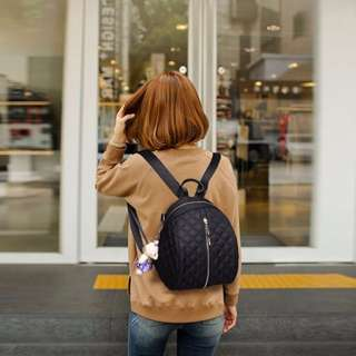 NS7750 Black - Tas Sekolah, Tas Kuliah, Tas Ransel, Tas Punggung, Tas Selempang - Tas Wanita - Tas Fashion Import