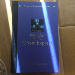 Agatha Christie: Murder On The Orient Express Hard Cover