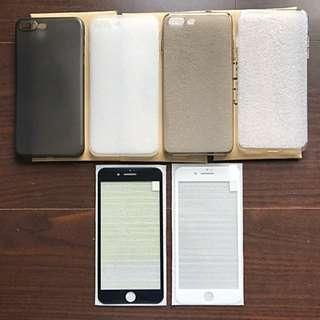 iPhone 7 plus 保護殼保護套/藍光螢幕保護貼