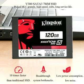 KINGSTON SSD V300 Drive 120GB (450MB/sec)