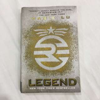 LEGEND By Marie lu - NY Times Bestseller