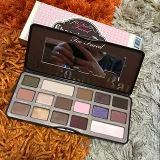 Too Faced Brand New Authentic Chocolate Pallet