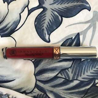 Used Anastasia Beverly Hills Liquid Lipstick - Sarafine