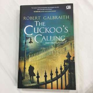 The Cuckoo's Calling - Novel By Jk Rowling