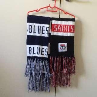 AFL scarfs
