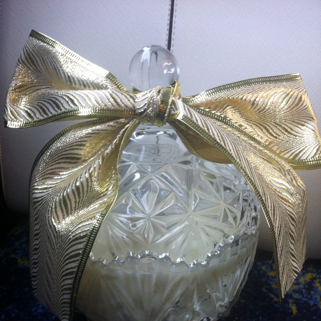 150hour Soy Candle Crystal Jar