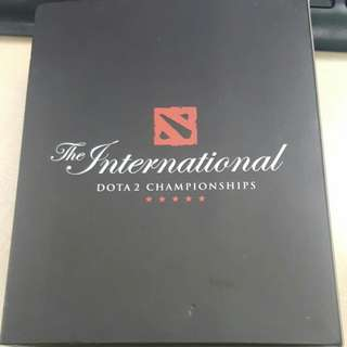 DOTA 2 The Collector's Aegis Of Champions - International Championship 2016