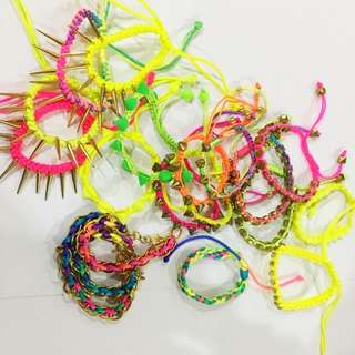 Neon Arm Candies 😍