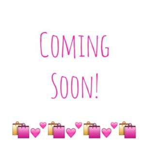 Coming Soon Items! And Restock!!!