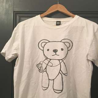 White Tshirt From Design Tshirts Store Graniph Size L
