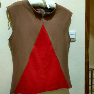 Top Brown size L