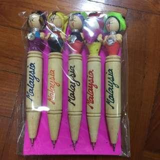 Souvenirs Pens (Malaysia)