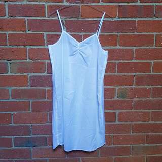 GORGEOUS WHITE SLIP DRESS