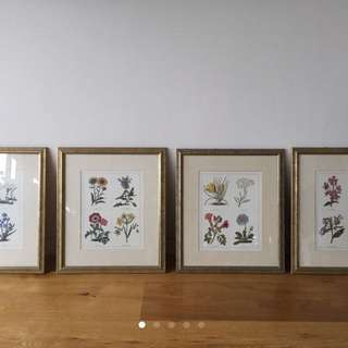 Floral Print Artwork