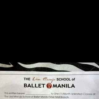 3k Worth Of Ballet Manila GC
