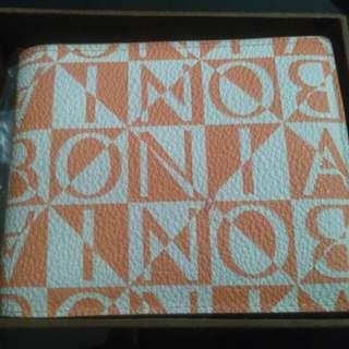 PL Bonia Small Folded Wallet Masih Ada Box