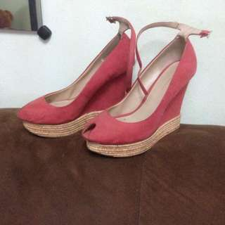 zara wedges size 37