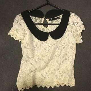 Lace Shirt Dotti