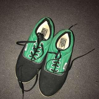 Green And Black Vans