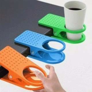 Penjepit Gelas Di Meja/ Table Cup Holder Clip/ Tatakan Gelas Meja