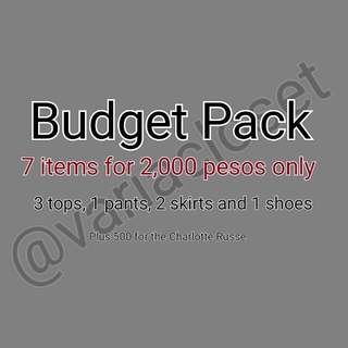 7 Items For Only 2k