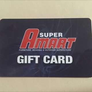 $500 Super Amart Gift Card/ Furniture Voucher $500 NEED GONE ASAP
