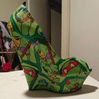 Tony Bianco TMNT Hand Covered Shoes