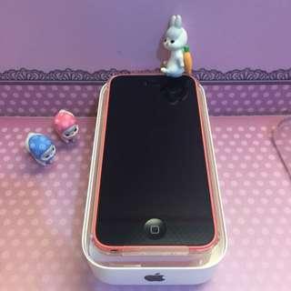 iPhone 5C 粉紅色