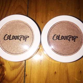 NEW COLOURPOP HIGHLIGHTERS